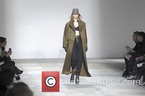 Model, Olivia Palermo and London Fashion Week 4