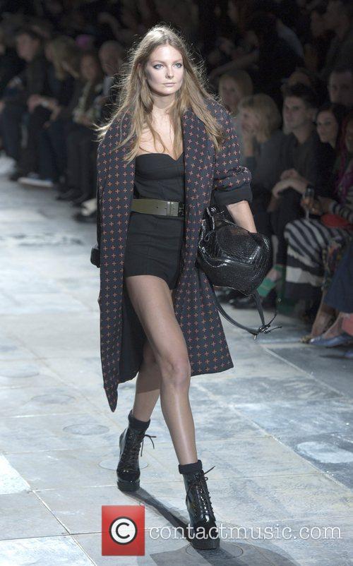 Model, Nicola Roberts and London Fashion Week 3