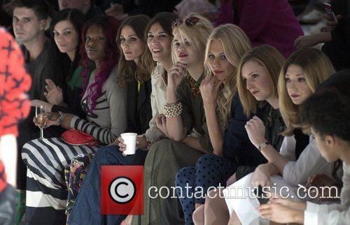 Olivia Palermo, Alexa Chung, Pixie Geldof and London Fashion Week 3