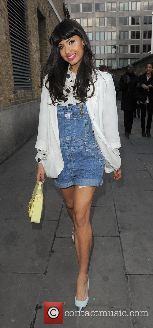 Jamelia and London Fashion Week 1