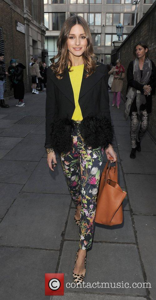 Olivia Palermo and London Fashion Week 9