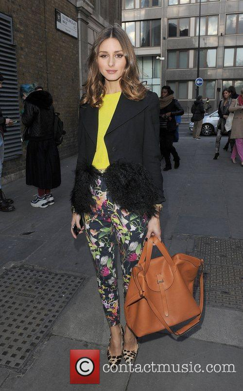 Olivia Palermo and London Fashion Week 10