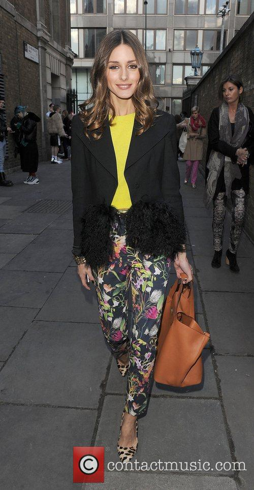 Olivia Palermo and London Fashion Week 11