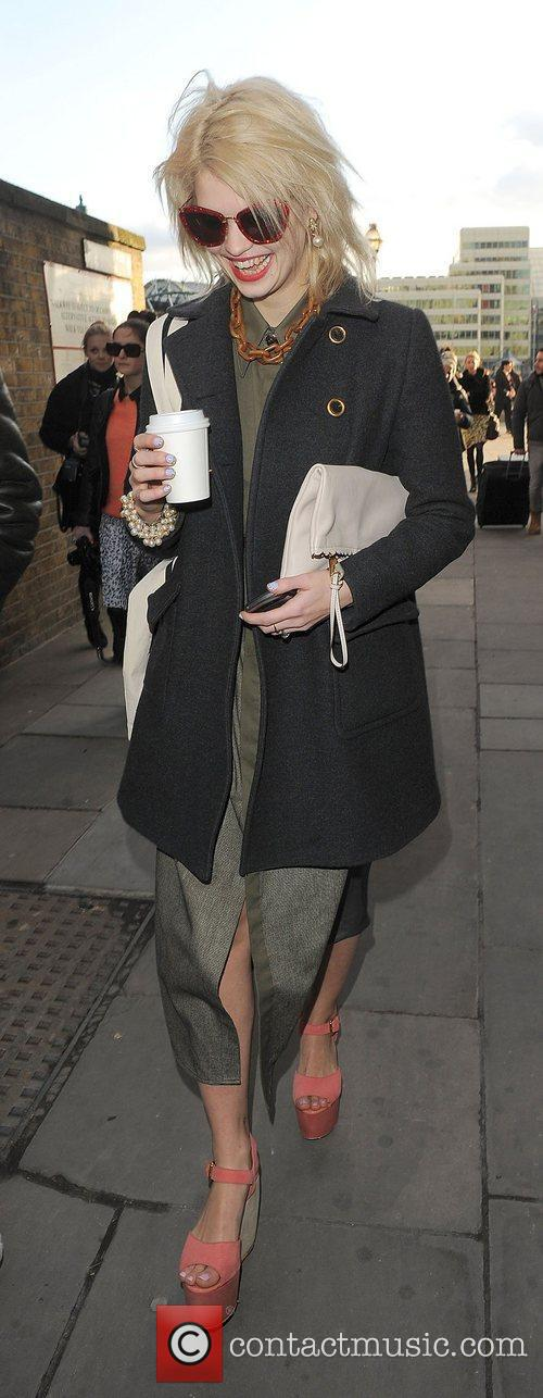 Pixie Geldof and London Fashion Week 8