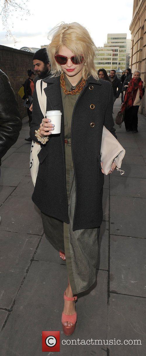 Pixie Geldof and London Fashion Week 9