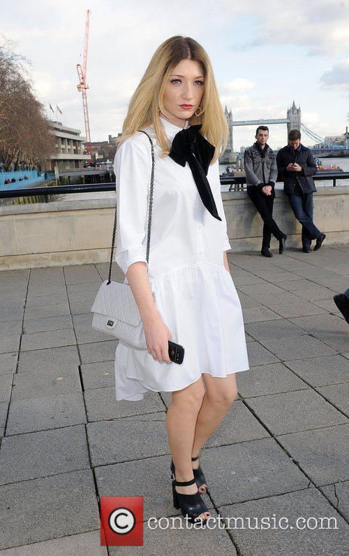 Nicola Roberts and London Fashion Week 7