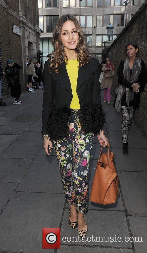 Olivia Palermo and London Fashion Week 7