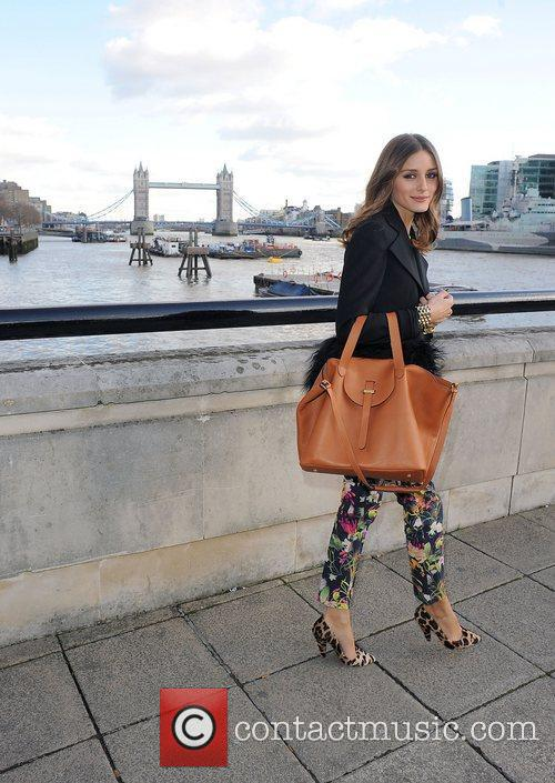 Olivia Palermo and London Fashion Week 1