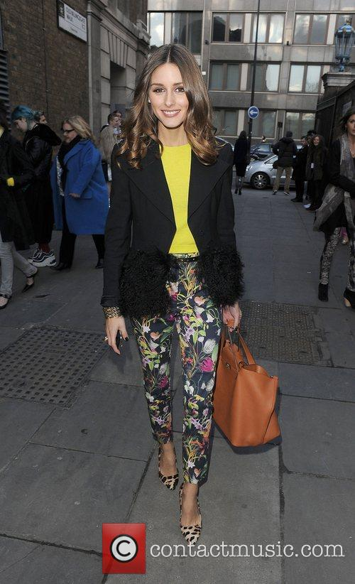 Olivia Palermo and London Fashion Week 8