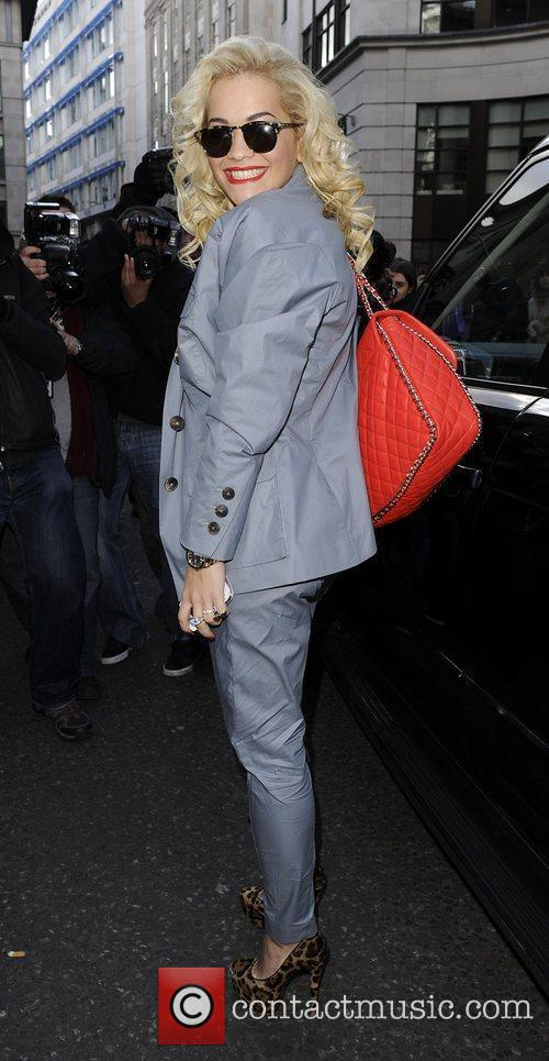 Arriving at Topshop Autumn/Winter 2012 collection.