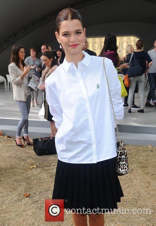 Pixie Geldof London Fashion Week Spring/Summer 2013 -...