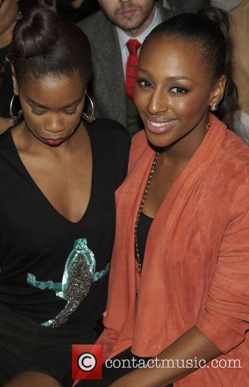 Alexandra Burke and London Fashion Week 2