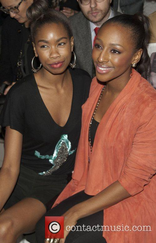 Alexandra Burke and London Fashion Week 1