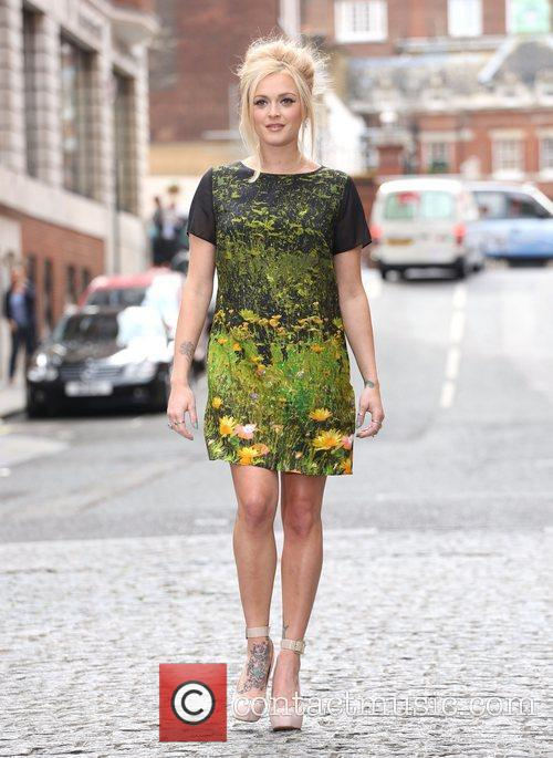 Fearne Cotton  London Fashion Week Spring/Summer 2013...