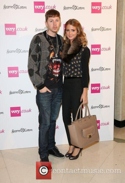 Professor Green and Millie Mackintosh London Fashion Week...