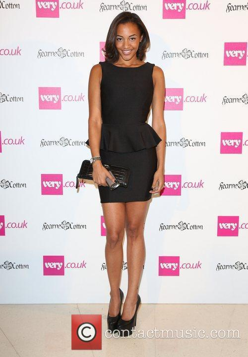 Amal Fashanu London Fashion Week Spring/Summer 2013 -...
