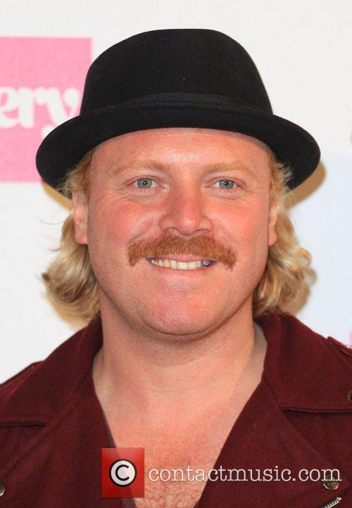 Keith Lemon aka Leigh Francis London Fashion Week...