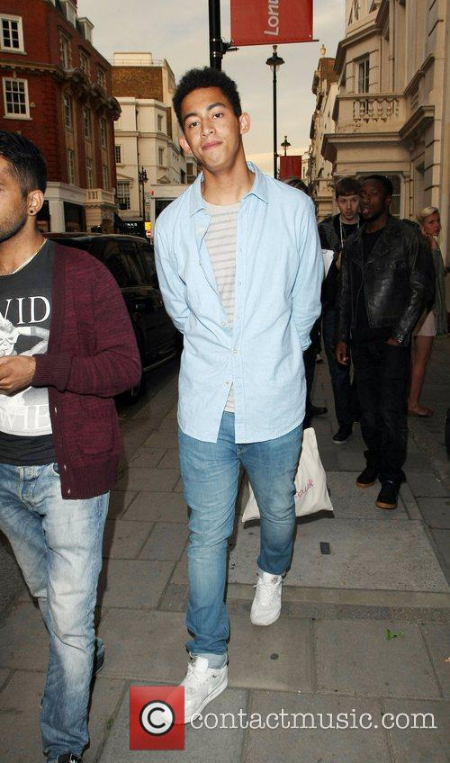 Jordan Rizzle Stephens of Rizzle Kicks London Fashion...