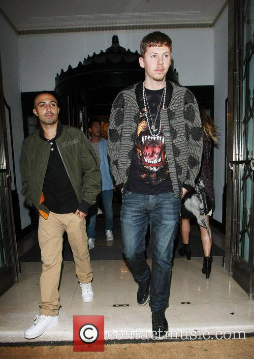 Professor Green and Adam Deacon London Fashion Week...
