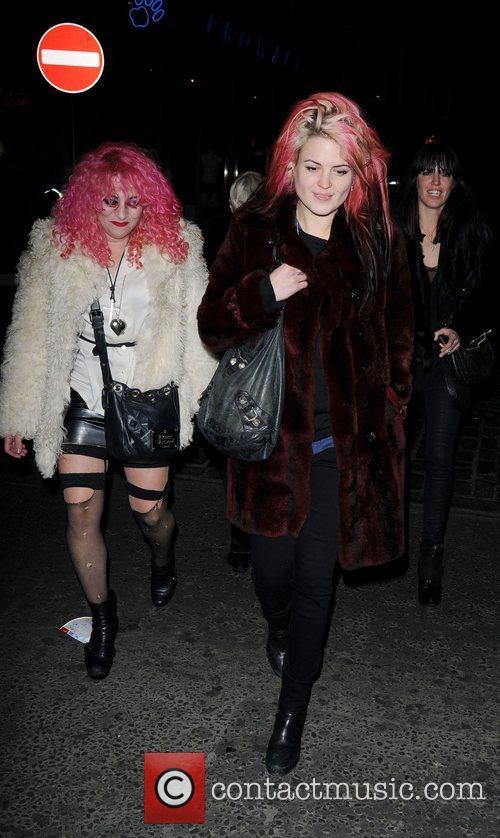 Alison Mosshart London Fashion Week - Autumn/Winter 2012...