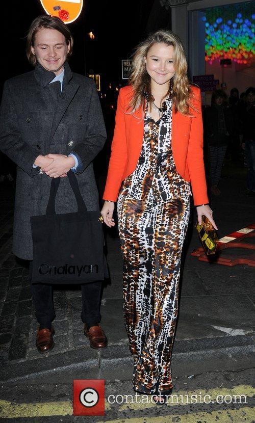 Amber Atherton London Fashion Week - Autumn/Winter 2012...
