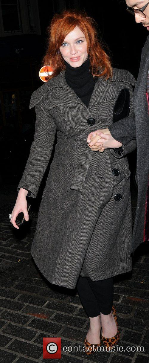 Christina Hendricks and London Fashion Week 2