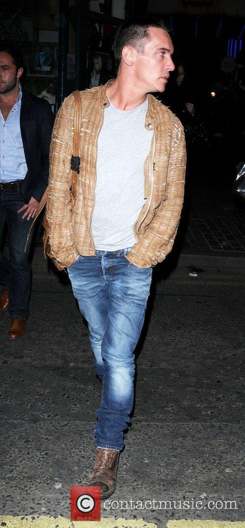 Jonathan Rhys Meyers and London Fashion Week 1