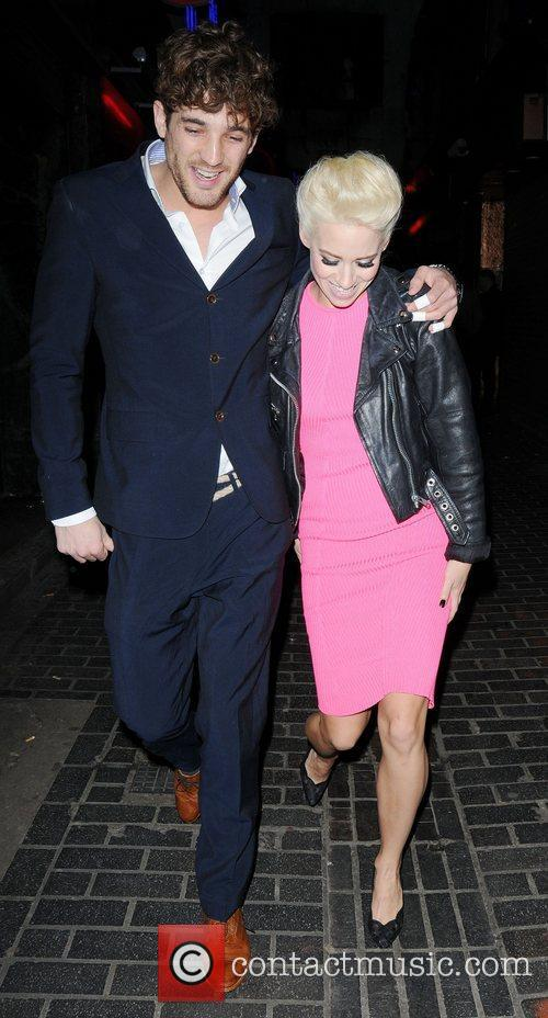 Kimberly Wyatt and London Fashion Week 2