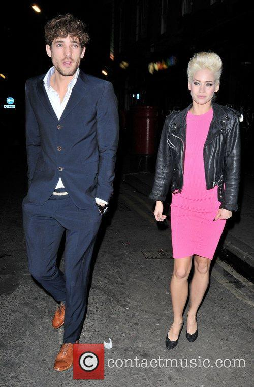 Kimberly Wyatt and London Fashion Week 3