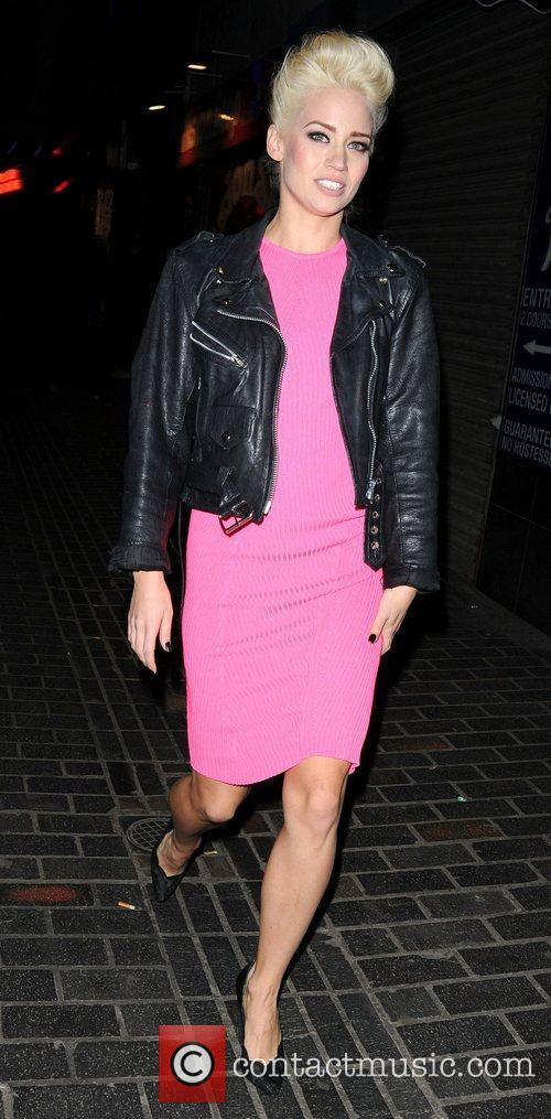 Kimberly Wyatt and London Fashion Week 5
