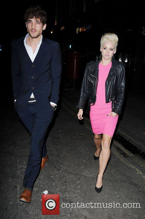 Kimberly Wyatt and London Fashion Week 8