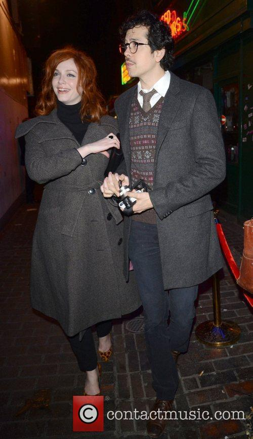 Christina Hendricks and London Fashion Week 4