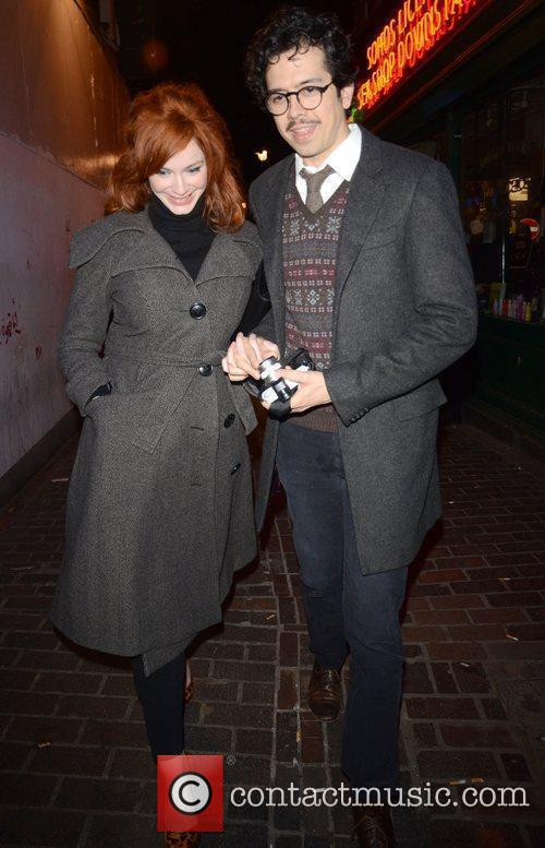Christina Hendricks and London Fashion Week 5