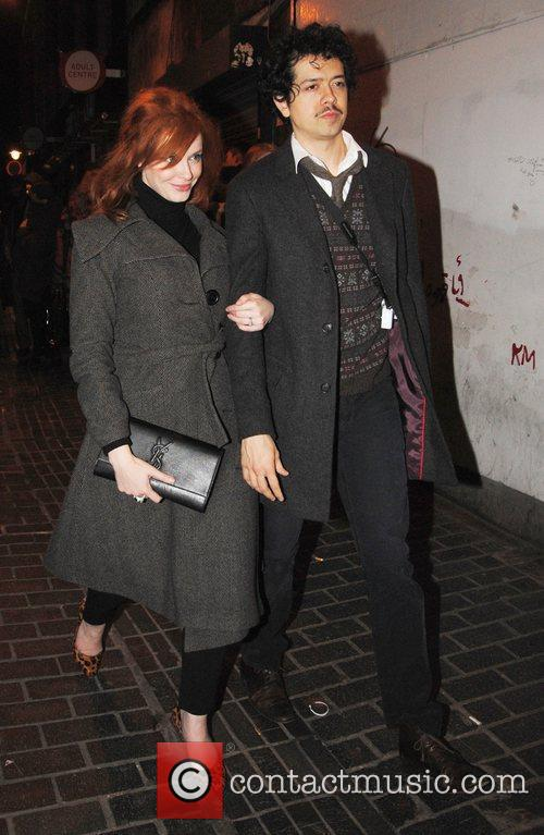 Christina Hendricks and London Fashion Week 6