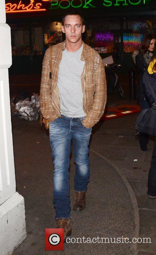 Jonathan Rhys Meyers London Fashion Week