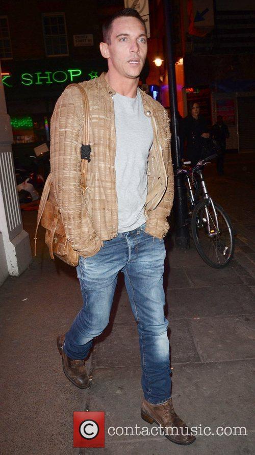 Jonathan Rhys Meyers and London Fashion Week 8
