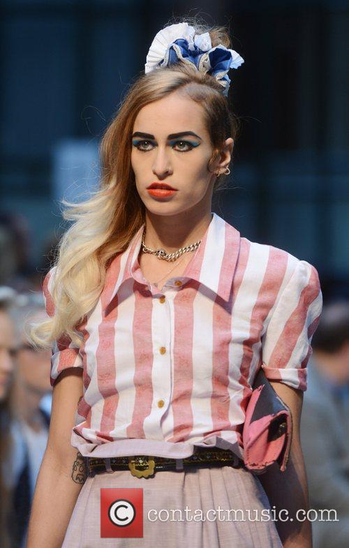 Alice Dellal London Fashion Week Spring/Summer 2013 -...