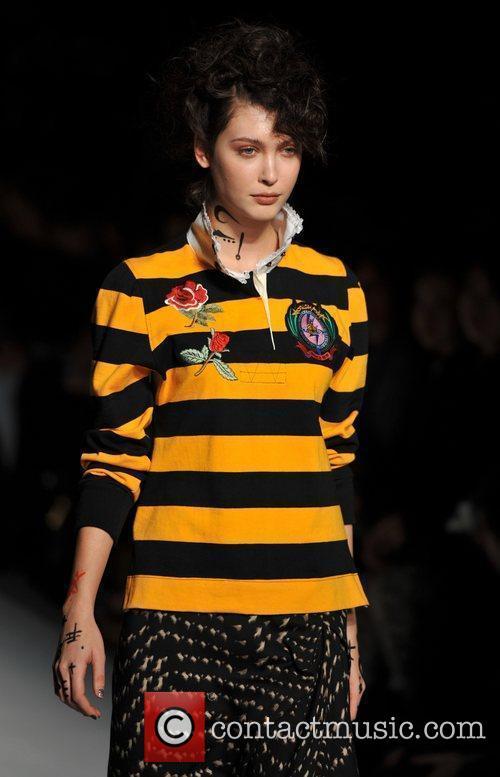 Model, Vivienne Westwood and London Fashion Week 2
