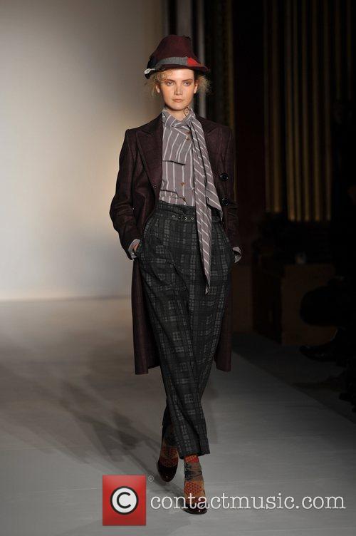 Model, Vivienne Westwood and London Fashion Week 3