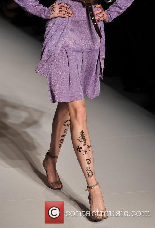 Model, Vivienne Westwood and London Fashion Week 4