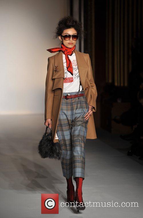 Model, Vivienne Westwood and London Fashion Week 5