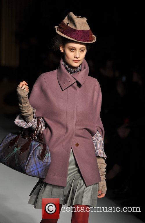 Model, Vivienne Westwood and London Fashion Week 6