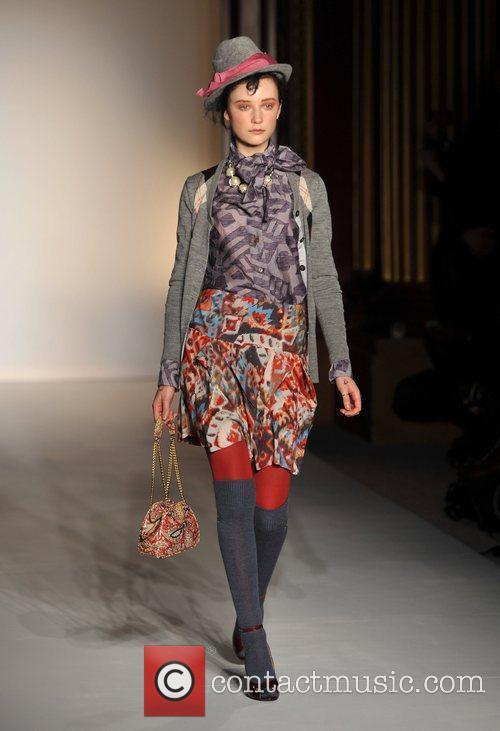 Model, Vivienne Westwood and London Fashion Week 8