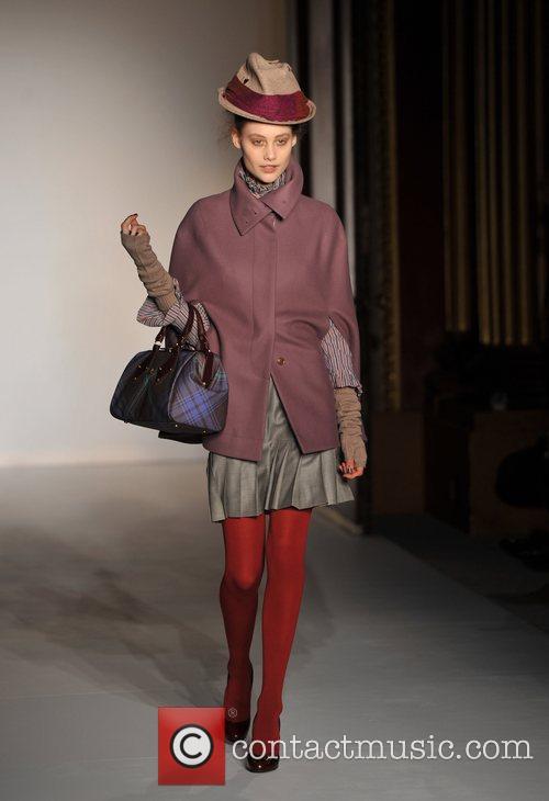 Model, Vivienne Westwood and London Fashion Week 1
