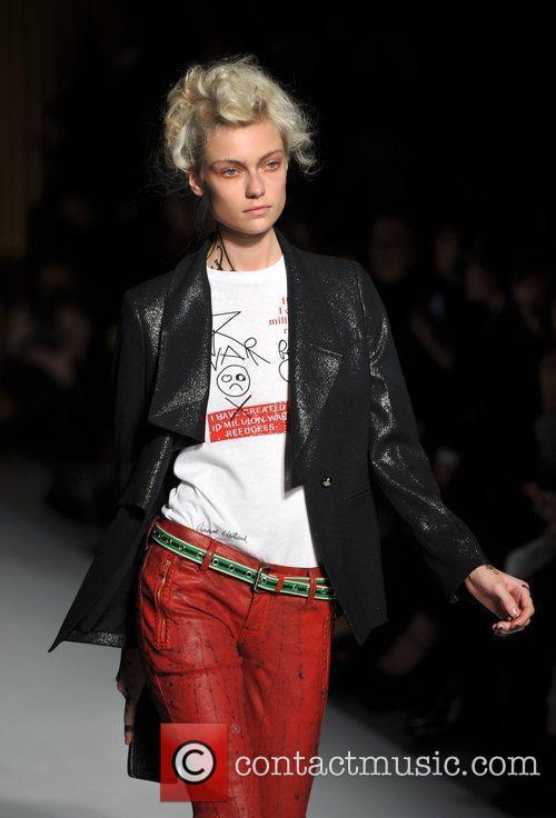 Model, Vivienne Westwood and London Fashion Week 9