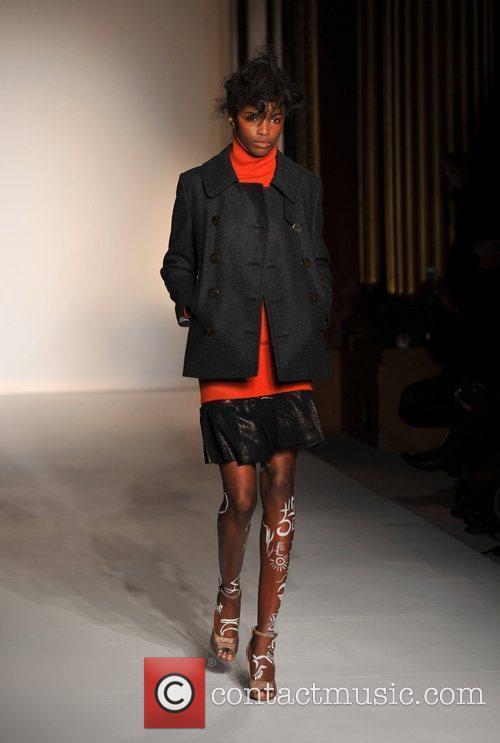 Model, Vivienne Westwood and London Fashion Week 10