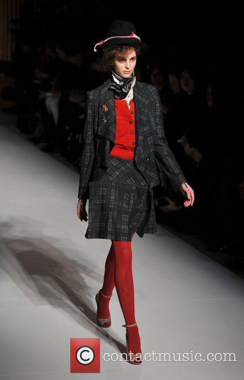 Model, Vivienne Westwood and London Fashion Week 11