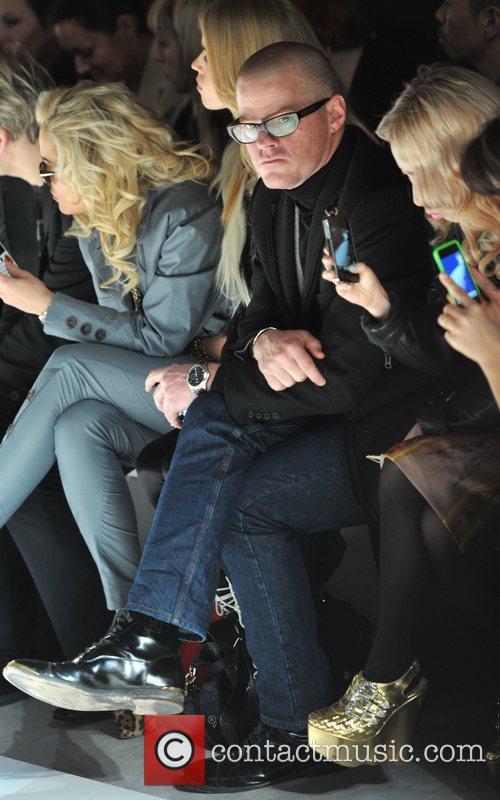 Heston Blumenthal and London Fashion Week 4