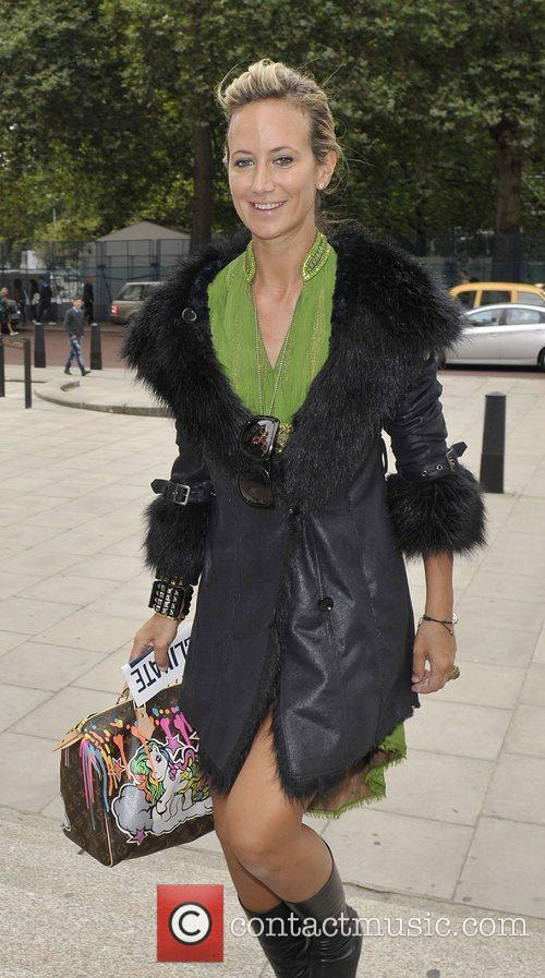 Lady Victoria Hervey and London Fashion Week 4