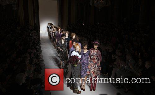 Model, Vivienne Westwood and London Fashion Week 2
